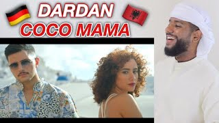 ARAB REACTION TO ALBANIANGERMAN MUSIC BY DARDAN ~ COCO MAMA **AMAZING**