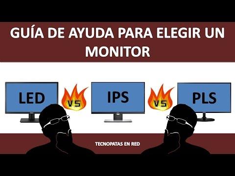 Guia de ayuda para elegir un monitor para pc