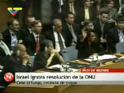 Israel rechaza resolución de la ONU y prosigue bombardeos contra pueblo civil de Gaza, cifra de muertos sigue aumentando.