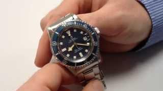 TUDOR/ROLEX vintage wristwatch, Prince Oyster Date Submariner 'Snowflake', Ref. 94110, circa 1978