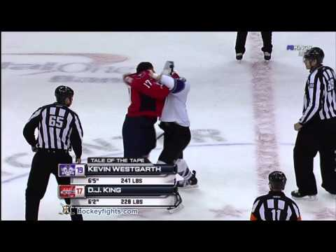 D.J. King vs. Kevin Westgarth
