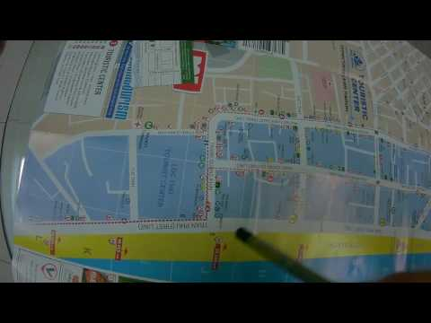 Нячанг 2016 Вьетнам.Карта Европейского квартала.Обмен денег и еда.