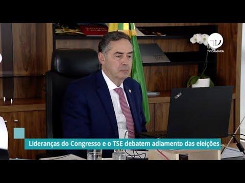Congresso e TSE discutem adiamento das eleições municipais - 17/06/20