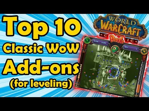 Top 10 Best Classic WoW Add-Ons to Have While Leveling Up (World of Warcraft)