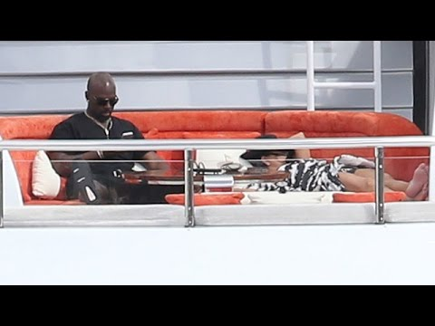 Kris Jenner And Corey Gamble Enjoy Together Time Up Top The Excellence V In St Barths