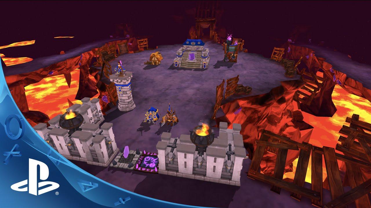 Presentamos The Castle Game, un nuevo juego de estrategia para PS4