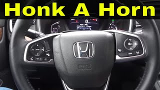 How To Honk A Car Horn In 2 Minutes-Driving Lesson