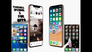 iOS 12 2 Theme For All Realme & Oppo Devices || iPhone Theme For All