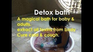 Kick Kids & Adults Cold& Flu By Detox Bath|| Epsom Salt Bath!!Remove Toxins