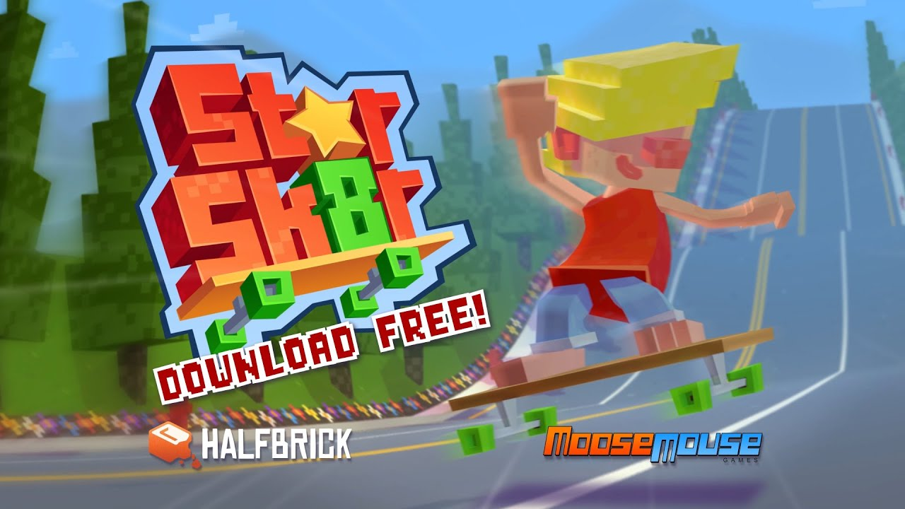Halfbrick's New Game Is A Street Skater