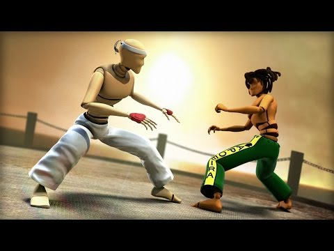 animating an acrobatic fight scene in maya tutorial