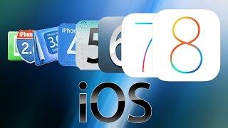 Эволюция Apple IOS