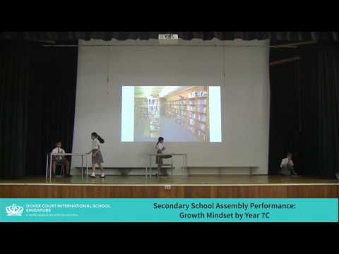 Secondary School Assembly - Growth Mindset by Year 7C