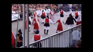 preview picture of video 'Usini - Esibizione del Gruppo Folk San Giorgio'