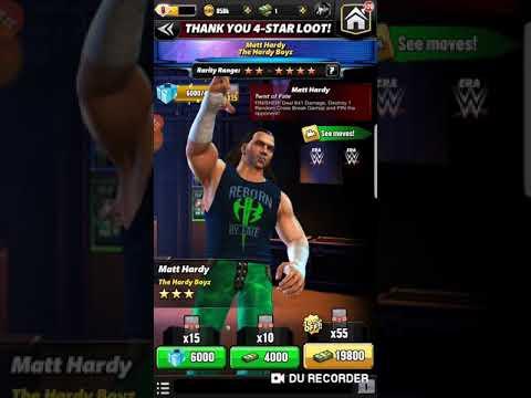 WWE CHAMPIONS THANK YOU 4 STAR LOOT PULLS