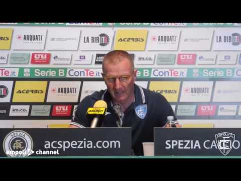Preview video Le parole di mister Andreazzoli al termine di Spezia-Empoli