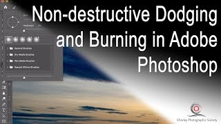 Non destructive Dodging and Burning in Photoshop