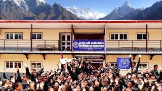 Opening Mahendra JHS School, Chaurikharka