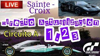 🔴 Directo de Gran Turismo Sport - Actualización 1.23 | Carreras en Sainte - Croix circuito A