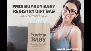 BuyBuy Baby | FREE Registry Bag 2020 NEW ITEMS! - Free Baby Stuff 2020