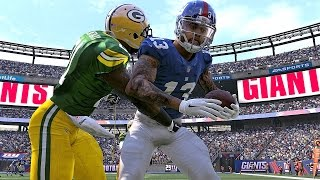 Madden 17 Packers vs Giants EXHIBITION Game on Xbox One