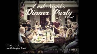 """Jon Christopher Davis, """"Colorado"""" (ft. Tom Faulkner), Americana Singer/Songwriter"""