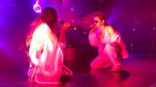 Charli XCX + Caroline Polachek   Tears LIVE HD (2018) Los Angeles El Rey Theatre