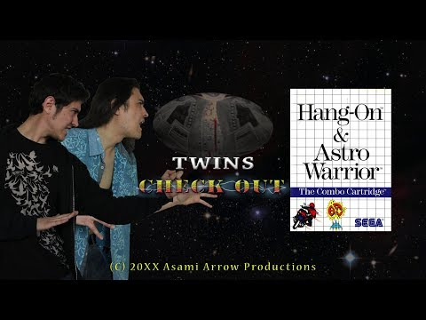 Twin Opinion Checks Out - Hang On & Astro Warrior (SEGA Master System)