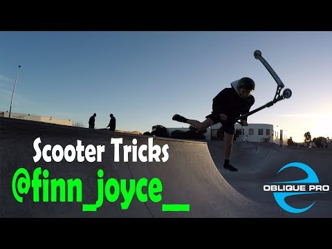 Scooter Tricks by @finn_joyce_