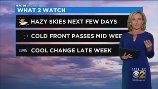 Hazy Skies The Next Few Days