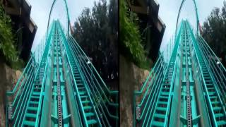 Google Cardboard Video - Roller Coasters Orlando and Tampa - VR Video 360 Full HD