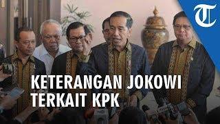 Jokowi Tak Pernah Ragukan Kiprah dan Kinerja Pimpinan Komisi Pemberantasan Korupsi KPK