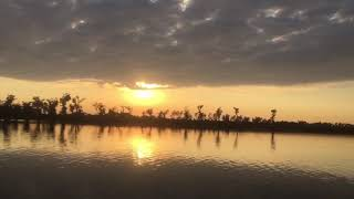 preview picture of video 'Tanguar Haor   Sunset   November 2016'