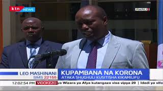 Nakuru Governor, Lee Kinyanjui address on COVID-19 | Full
