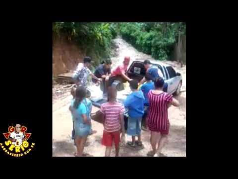 Vídeo Celular Segunda Feira Futebol Clube faz doações para vitimas dos deslizamentos dos Barnabés