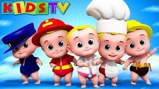 cinco pequenos bebês | saltando rimas para crianças | rima em português | Five Little Babies