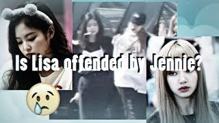 Is Lisa Offended By Jennie?   JENLISA SAD MOMENT