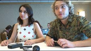 Тоби Регбо, Interview with Reign stars Adelaide Kane and Toby Regbo at SDCC 14