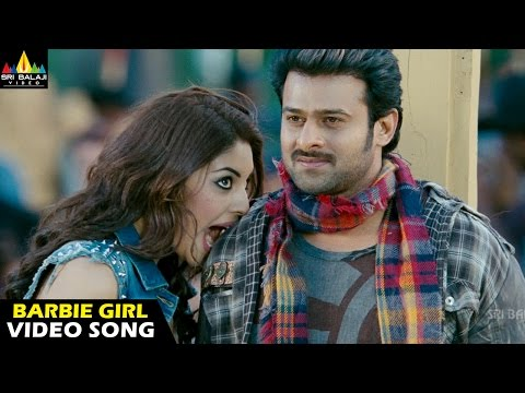 Mirchi Songs | Barbie Girl Video Song | Latest Telugu Video Songs | Prabhas, Richa