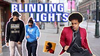 BLINDING LIGHTS In Public!