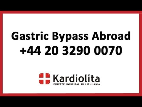 Gastric Bypass Abroad +44 20 3290 0070 | Kardiolita | Weight Loss Surgery Abroad | Medical Tourism