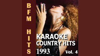 She Dreams (Originally Performed by Mark Chesnutt) (Karaoke Version)