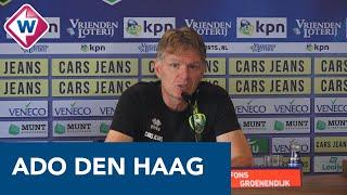 Fons Groenendijk blikt vooruit op Feyenoord - ADO Den Haag - OMROEP WEST SPORT