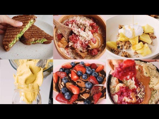 A Week of Healthy Vegan Breakfasts