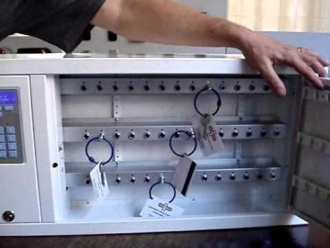 Presentazione completa gestione chiavi del nostro armadio di sicurezza key box 9400 fino a 42 chiavi