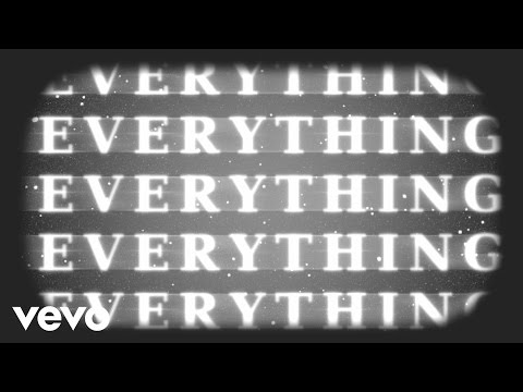 I Can't Give Everything Away Lyric video