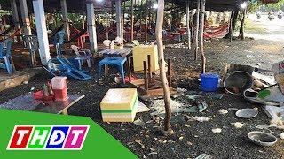 Quán nước đánh khách ở Long An bị đập phá | THDT