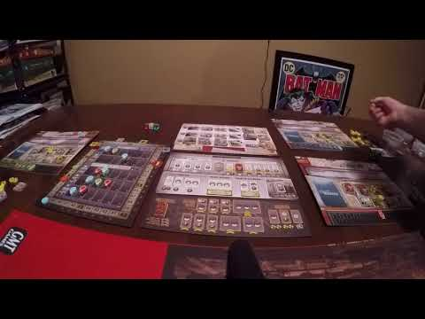 Bare Bones Wargaming Presents How to Play Manhattan Project 2: Minutes to Midnight: Scoring Round
