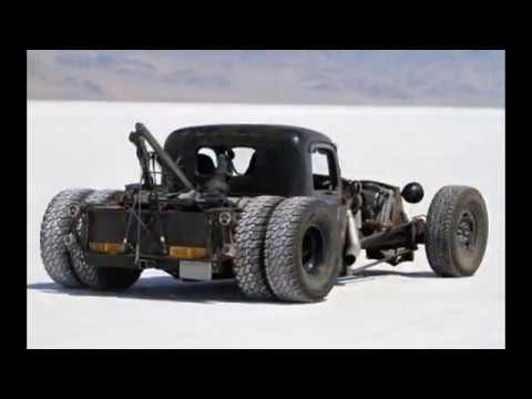 RAT RODS: THE DUALLIES- 50 different looks for your truck Willie Moore StreetRodding.com