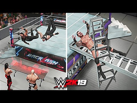 WWE 2K19 Top 10 Awesome Moments vs Epic Fails!! Part 5